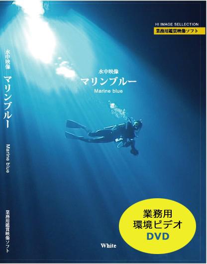 業務用鑑賞映像「水中映像・マリンブルー」DVD版